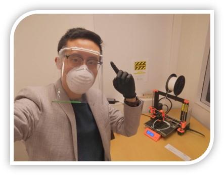 Steven - 3D Printing Face Shields